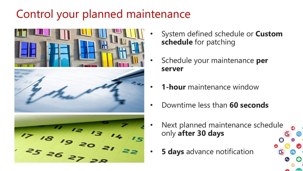 Control your planned maintenance • System defin...