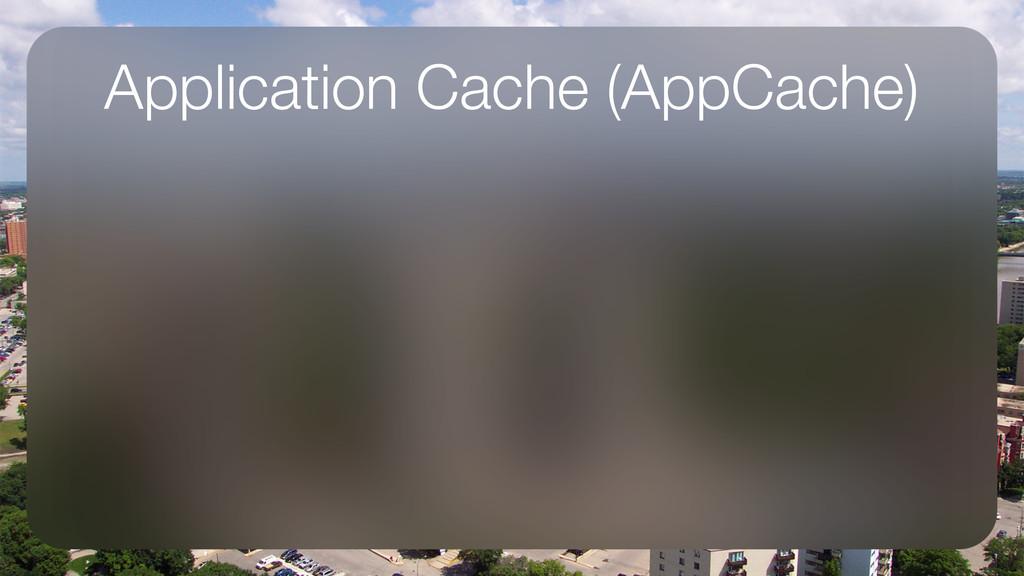 Application Cache (AppCache)