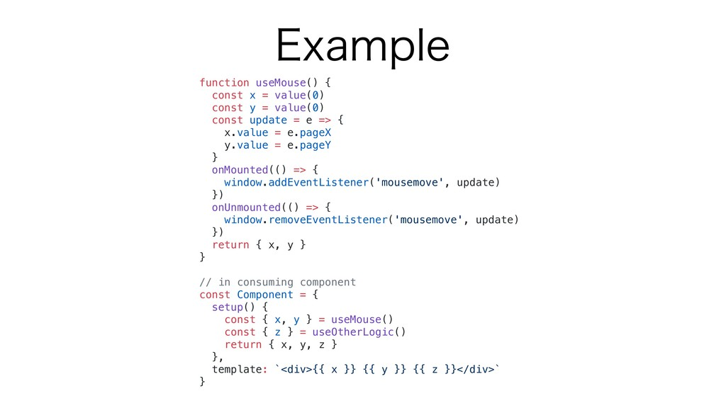 &YBNQMF function useMouse() { const x = value(0...