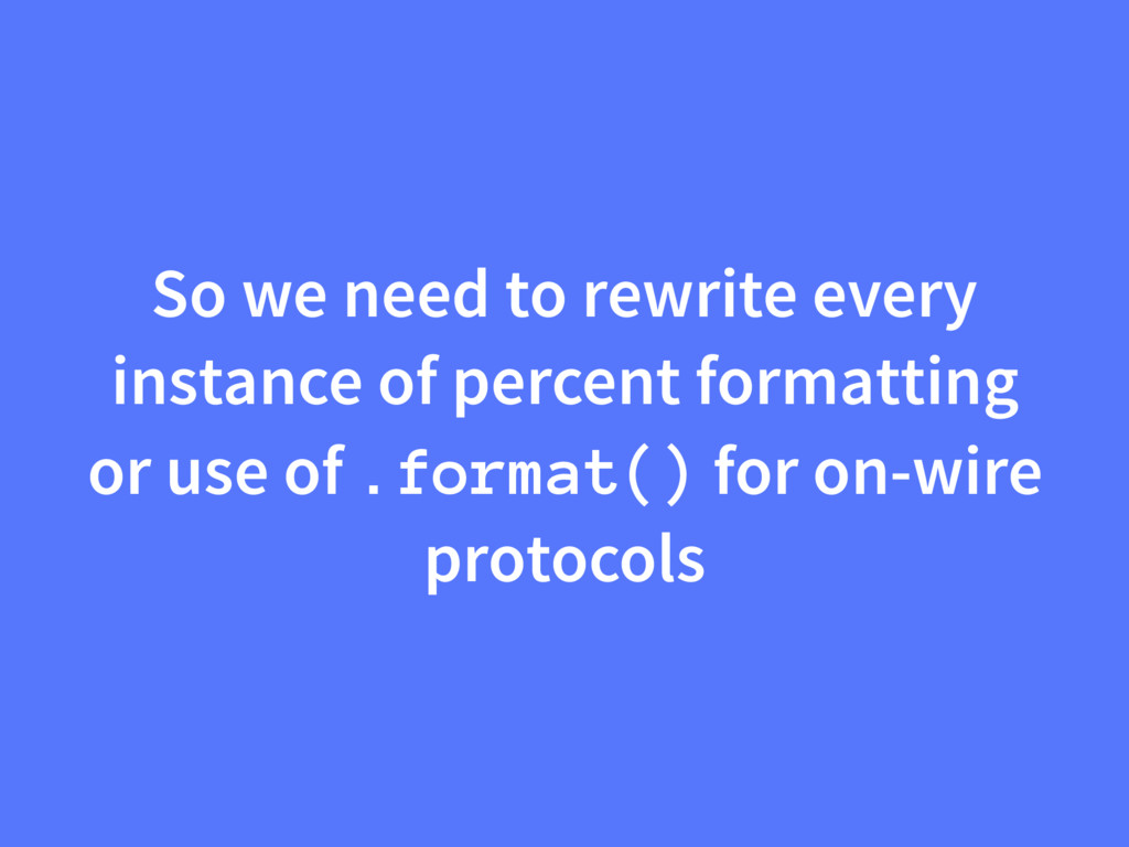 So we need to rewrite every instance of percent...
