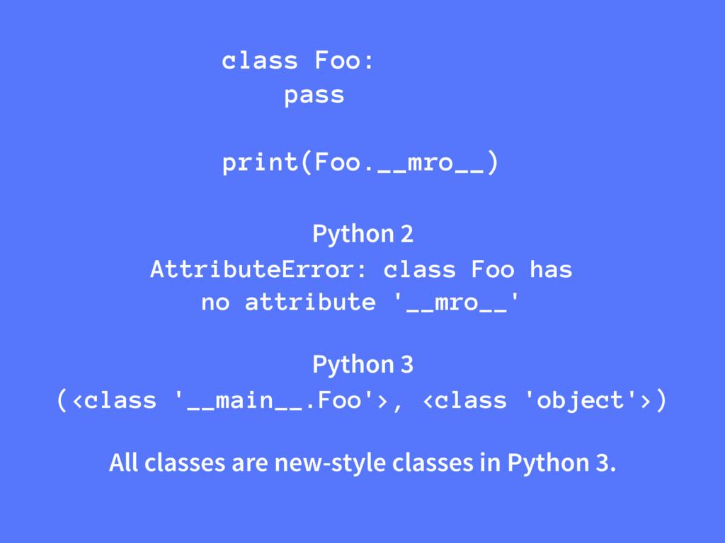Python 2 AttributeError: class Foo has no attri...
