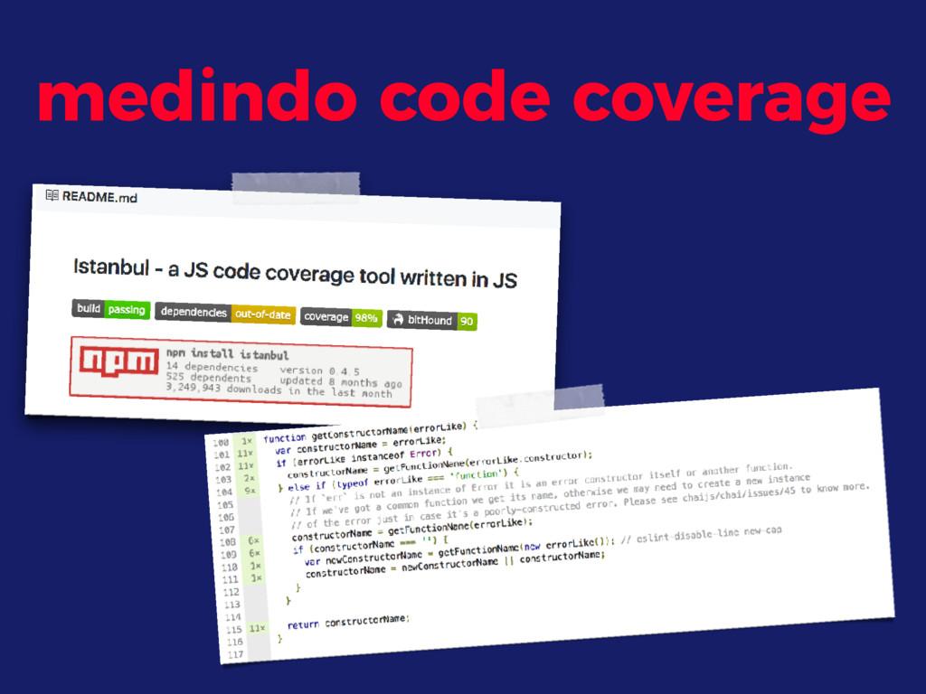 medindo code coverage