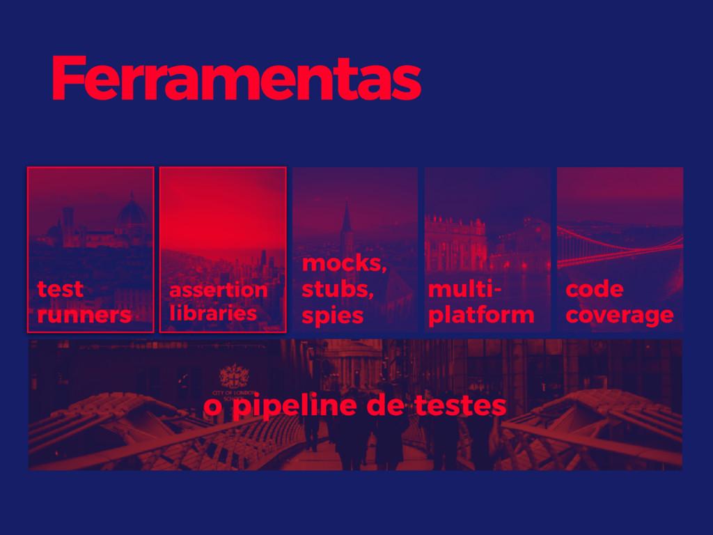 Ferramentas test runners assertion libraries co...