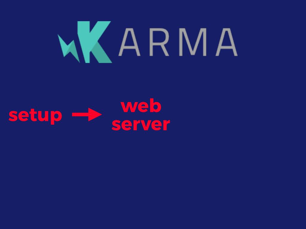 setup web server
