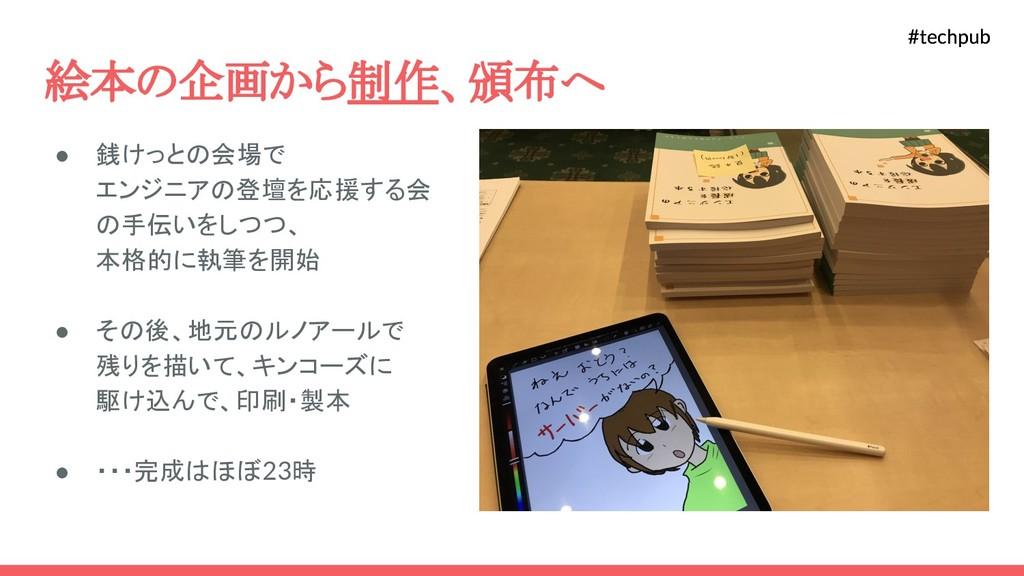 #techpub #techpub 絵本の企画から制作、頒布へ ● 銭けっとの会場で エンジニ...