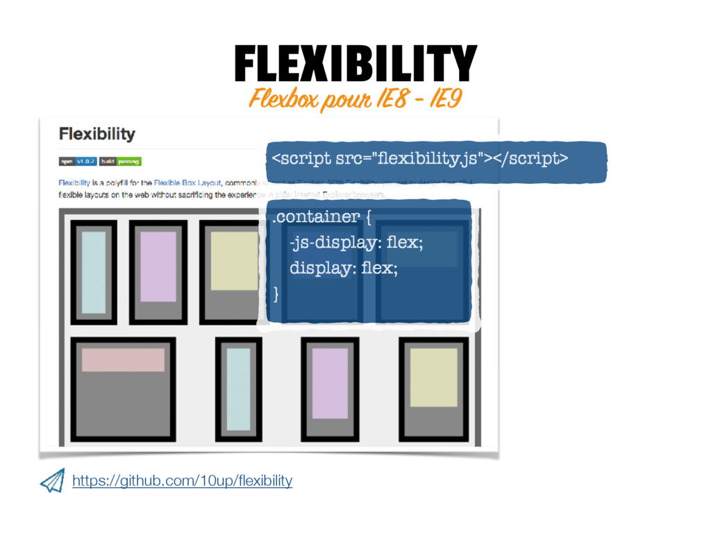 FLEXIBILITY https://github.com/10up/flexibility ...