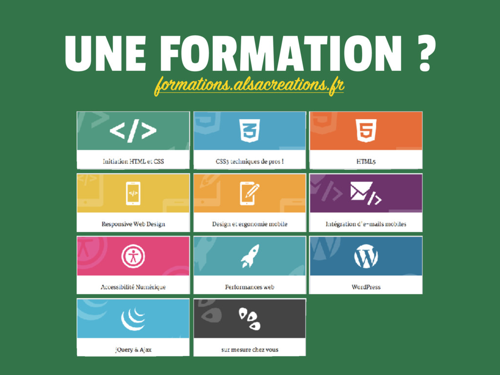 UNE FORMATION ? formations.alsacreations.fr
