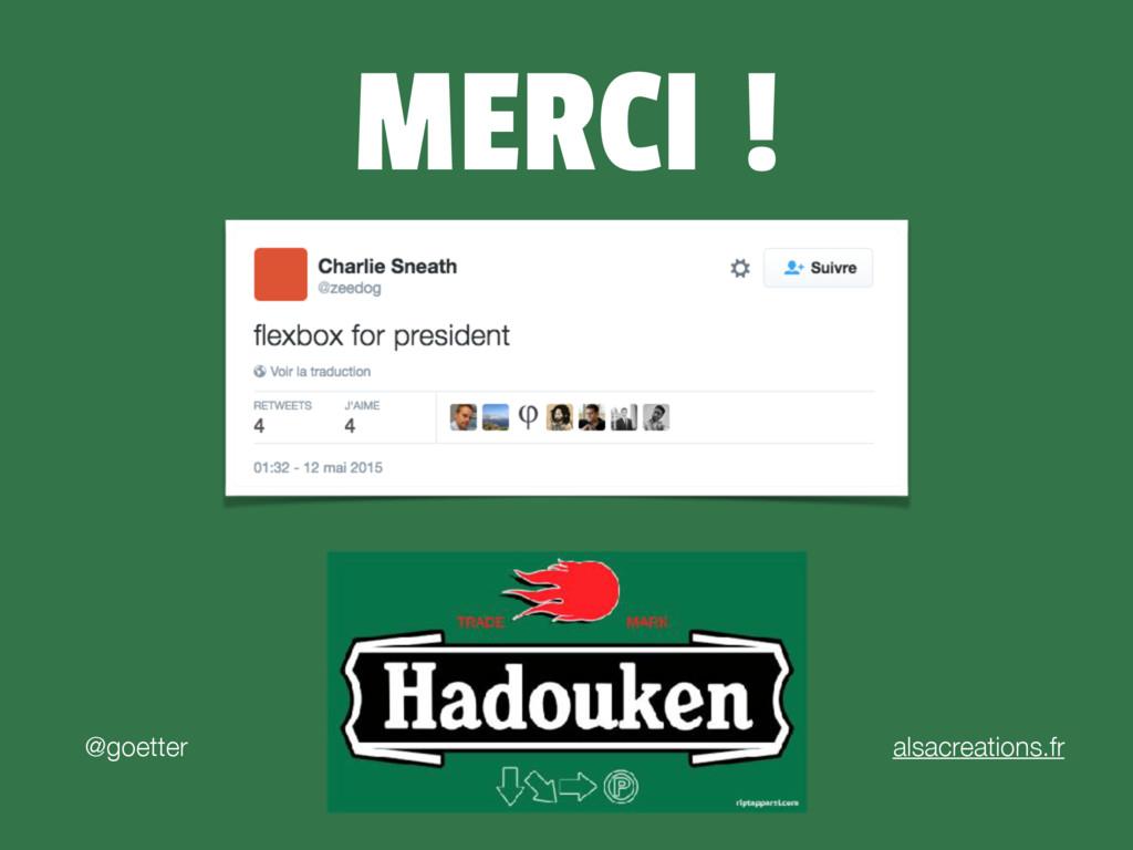 MERCI ! @goetter alsacreations.fr