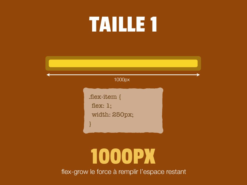 .flex-item { flex: 1; width: 250px; } 1000PX flex-...