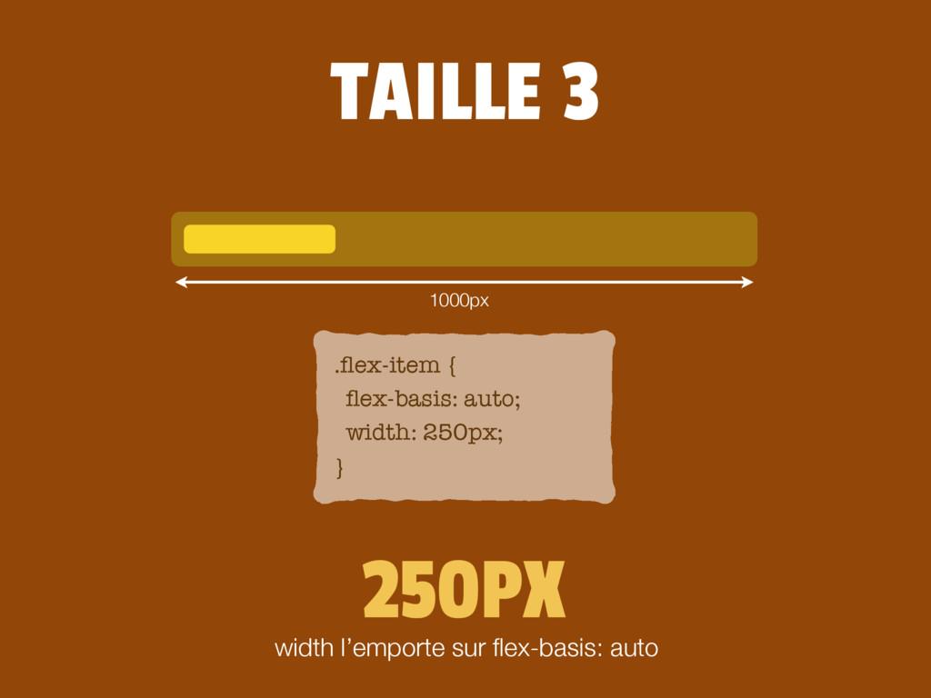 .flex-item { flex-basis: auto; width: 250px; } 25...