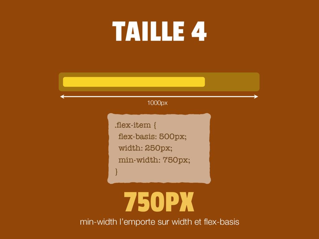750PX .flex-item { flex-basis: 500px; width: 250p...