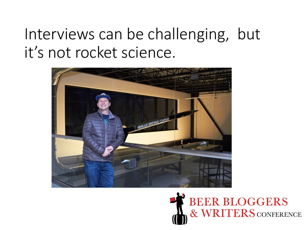 Interviews can be challenging, but it's not roc...