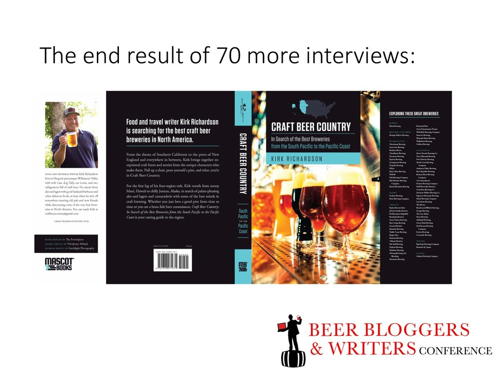 The end result of 70 more interviews: