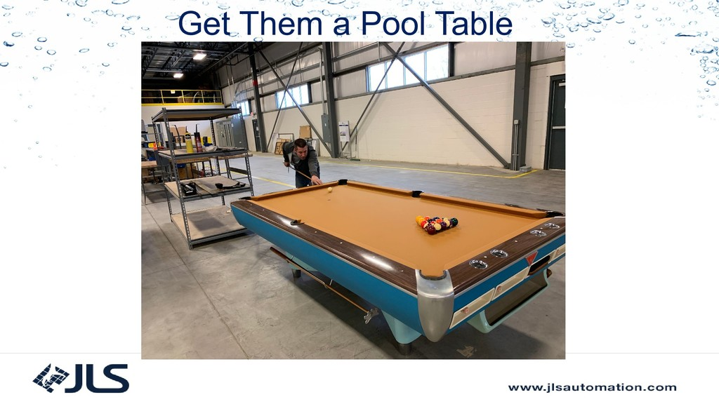 Get Them a Pool Table