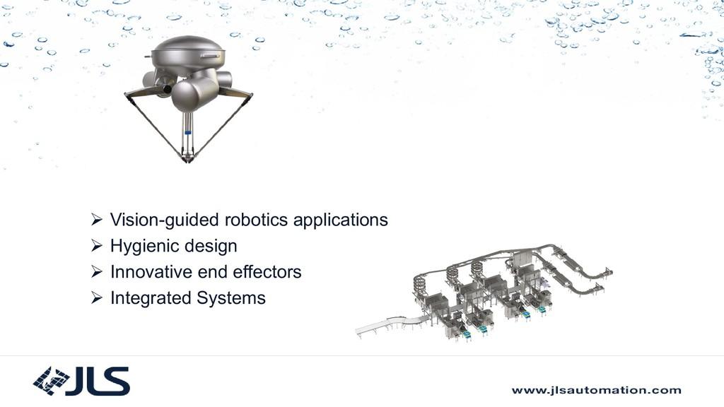  Vision-guided robotics applications  Hygieni...