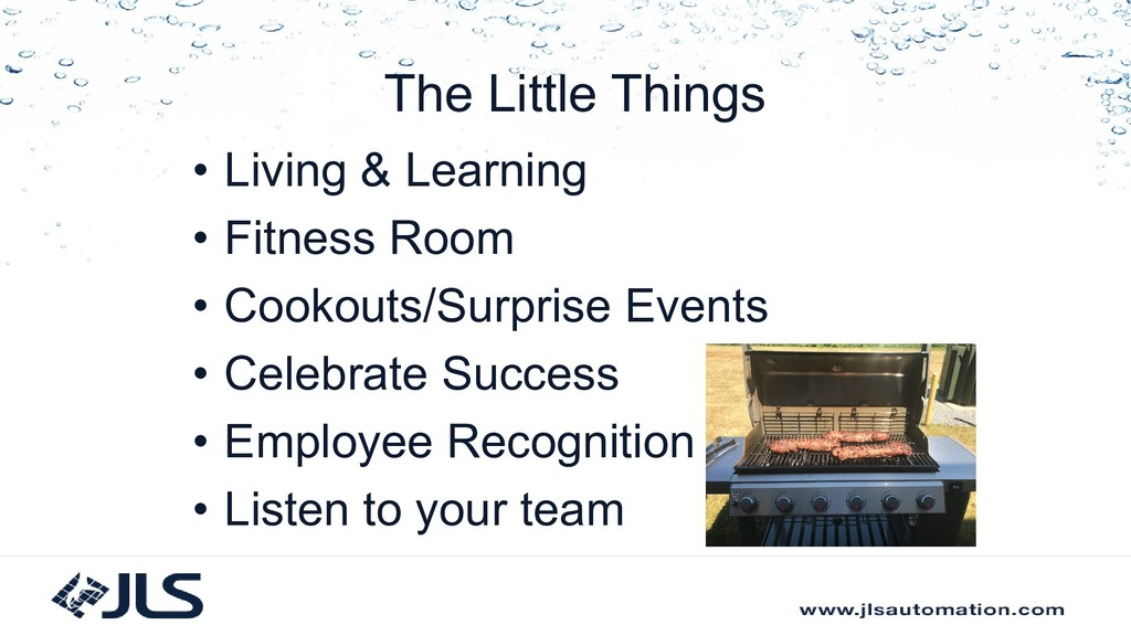 The Little Things • Living & Learning • Fitness...