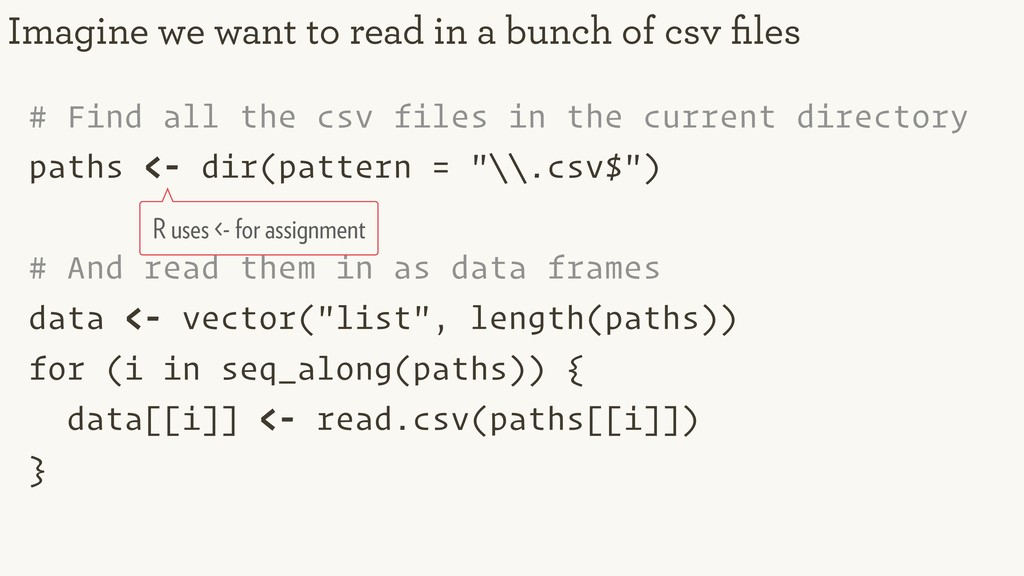 # Find all the csv files in the current directo...