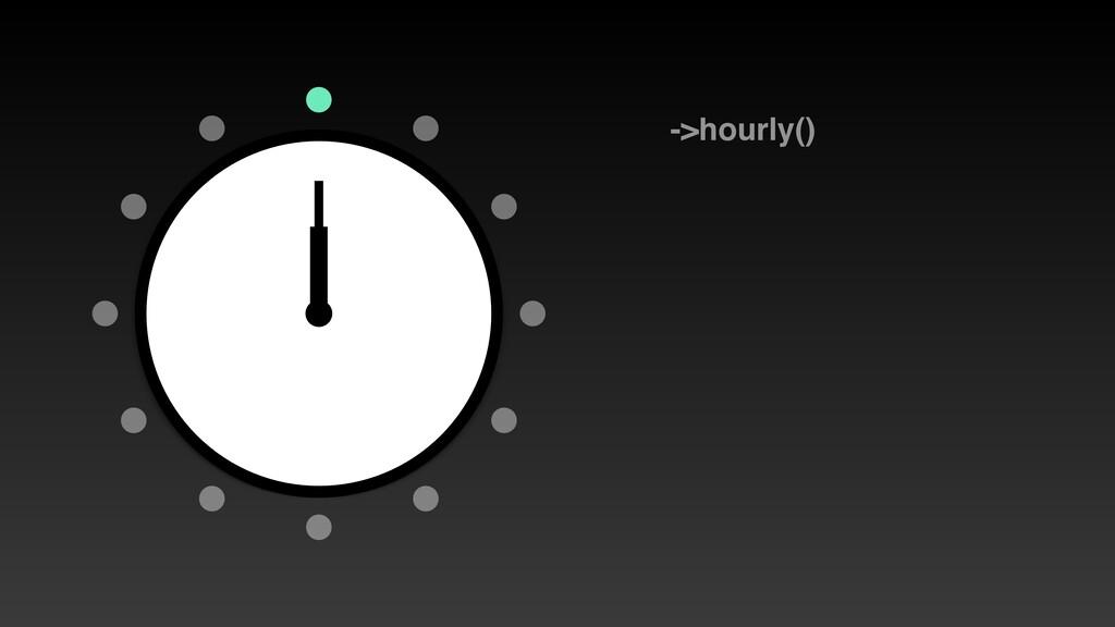 ->hourly()
