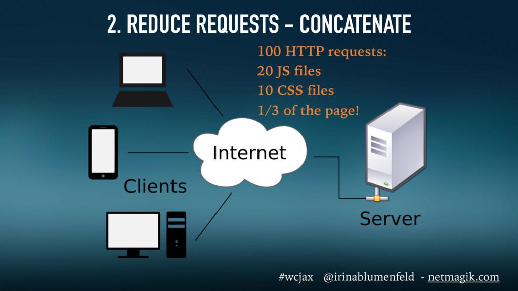 2. REDUCE REQUESTS - CONCATENATE 100 HTTP reque...