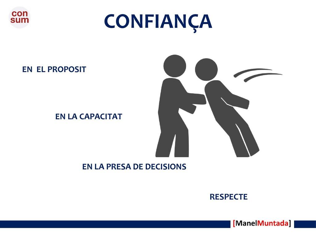 CONFIANÇA EN LA PRESA DE DECISIONS EN LA CAPACI...
