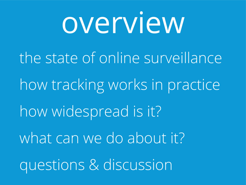the state of online surveillance how tracking w...