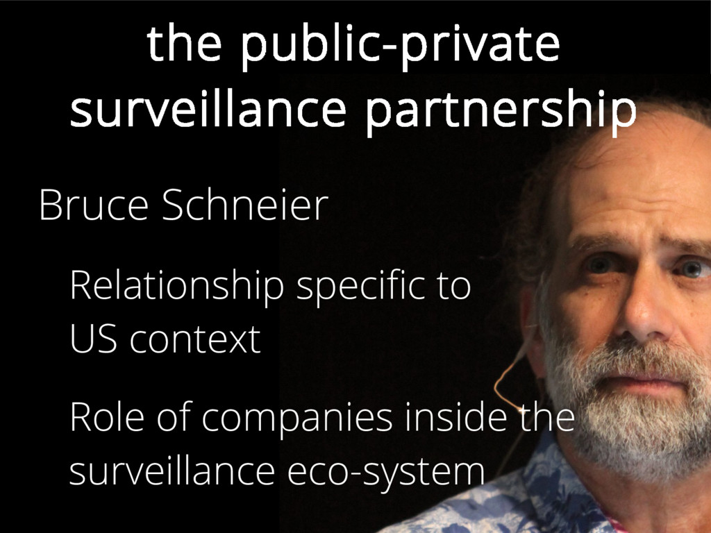 the public-private surveillance partnership Bru...