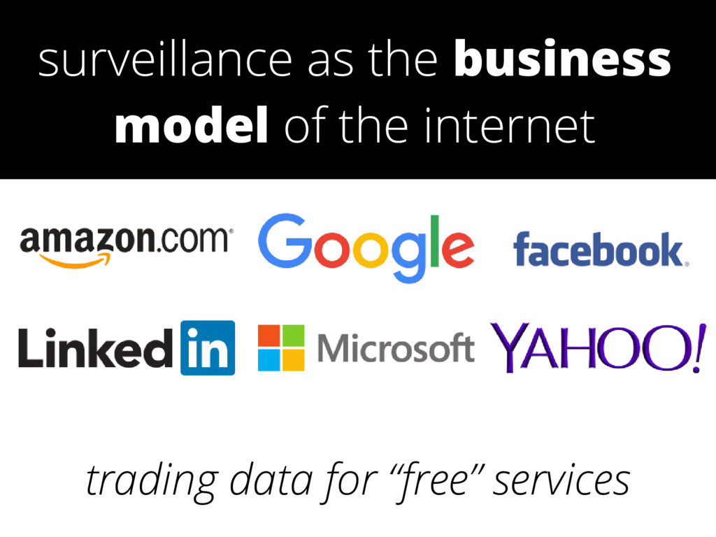 "trading data for ""free"" services surveillance a..."