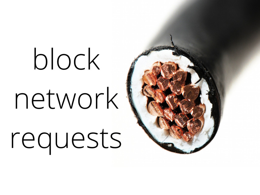 block network requests