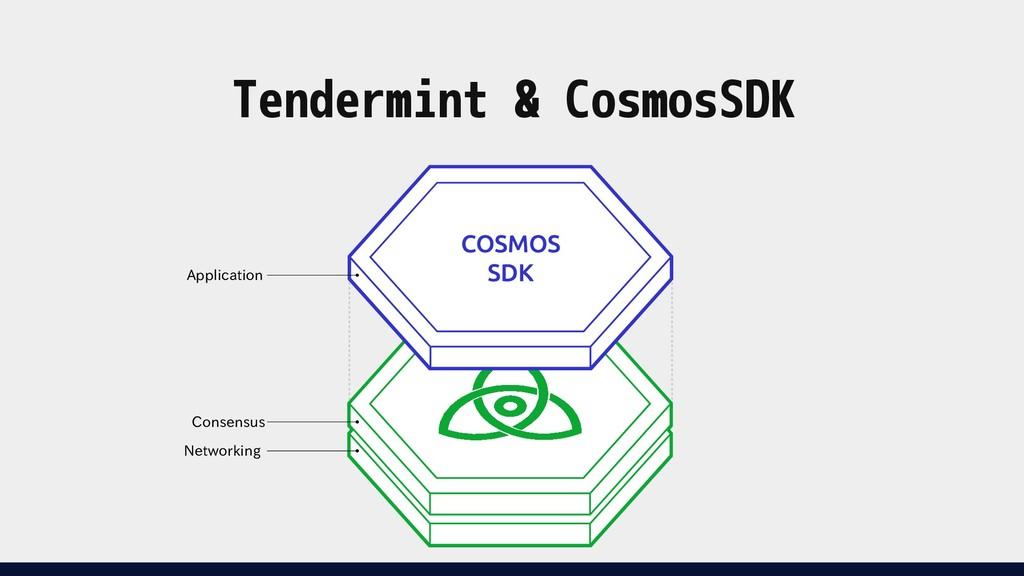 Tendermint & CosmosSDK Application Consensus Ne...
