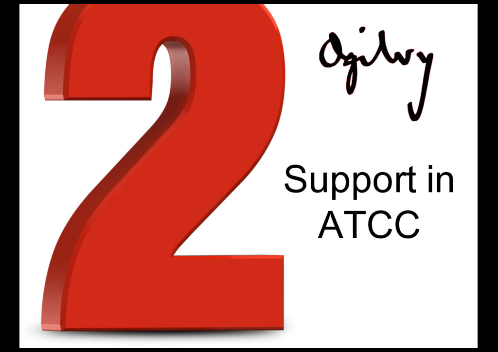 Support in ATCC