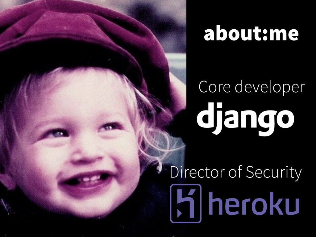 Director of Security Core developer about:me