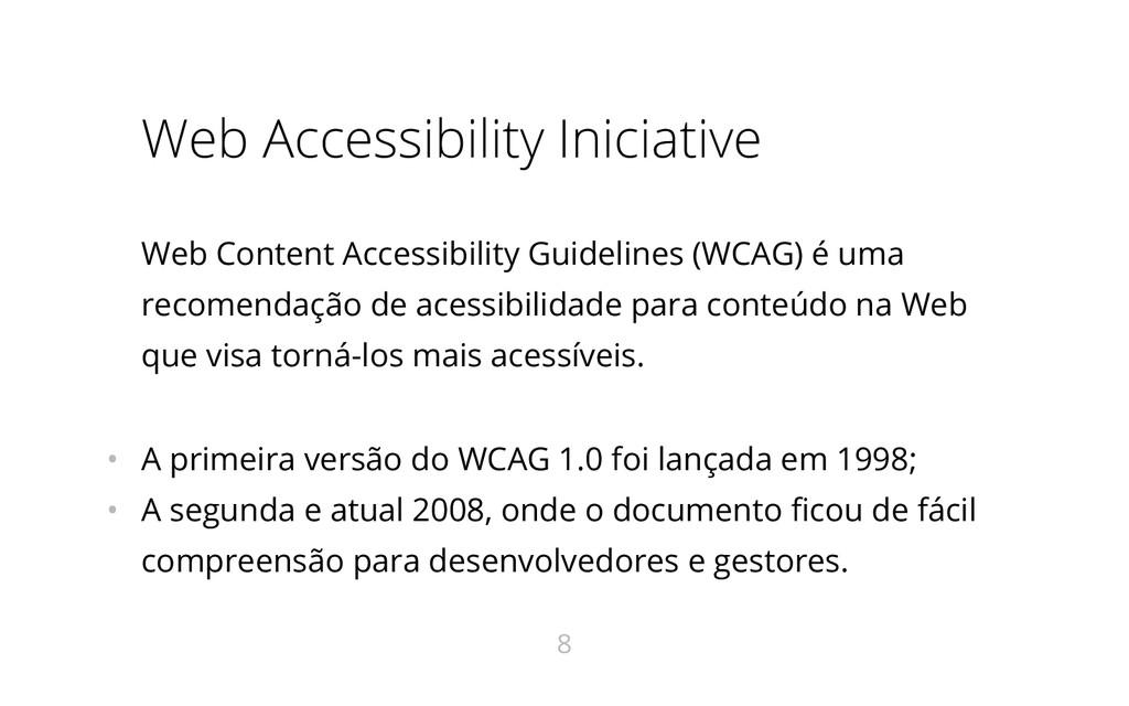 Web Accessibility Iniciative Web Content Access...