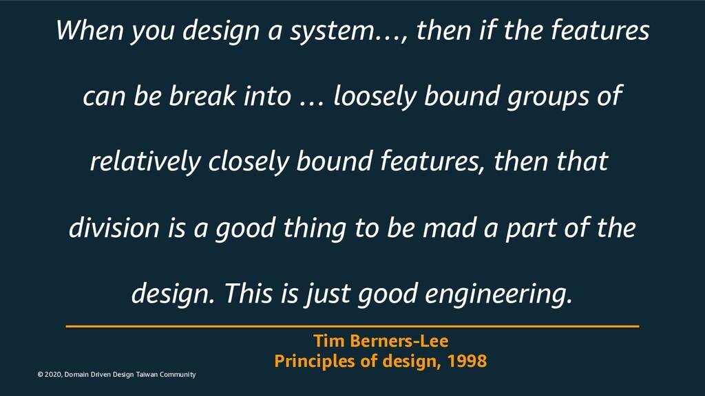 © 2020, Domain Driven Design Taiwan Community W...