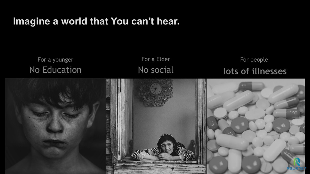 Imagine a world that You can't hear. No Educati...