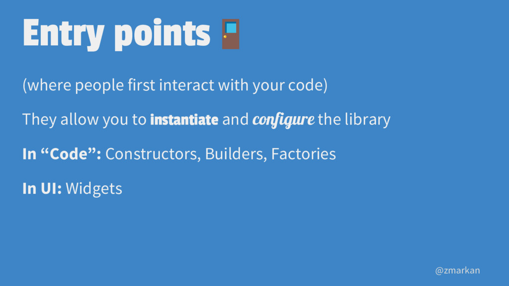@zmarkan Entry points (where people first inter...