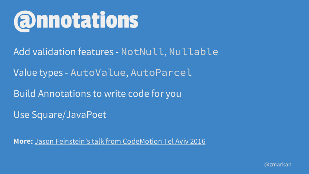 @zmarkan @nnotations Add validation features - ...