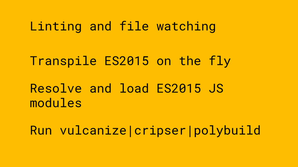 Transpile ES2015 on the fly Resolve and load ES...