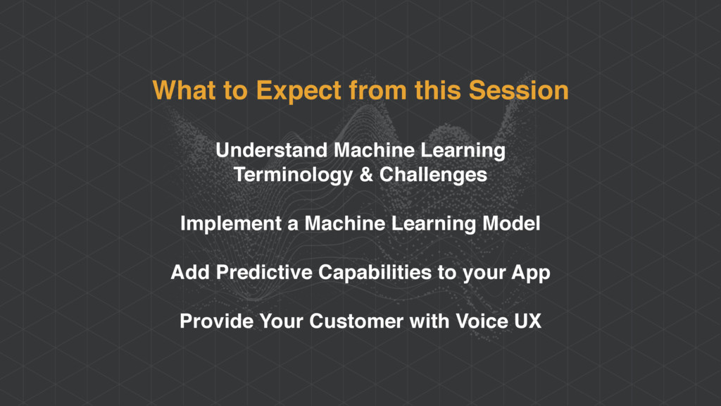 What to Expect from this Session Understand Mac...