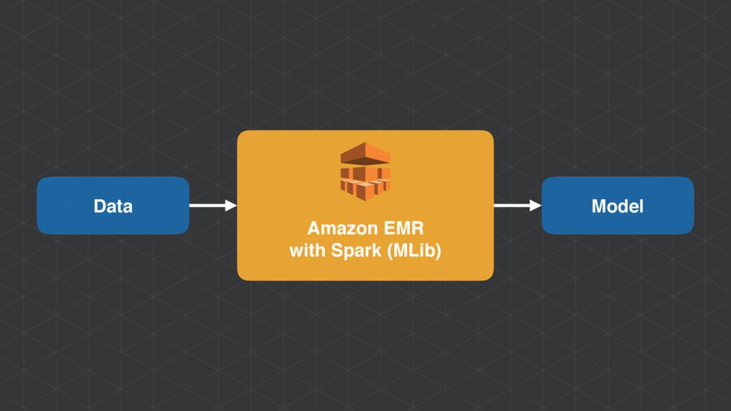 Amazon EMR with Spark (MLib) Data Model