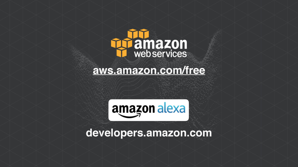 aws.amazon.com/free developers.amazon.com