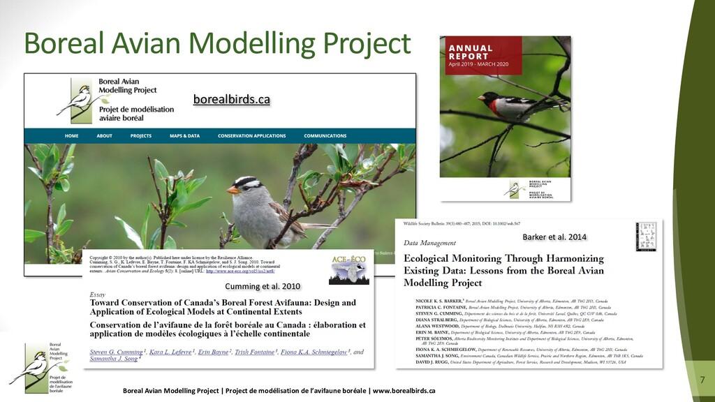 7 7 Boreal Avian Modelling Project | Project de...