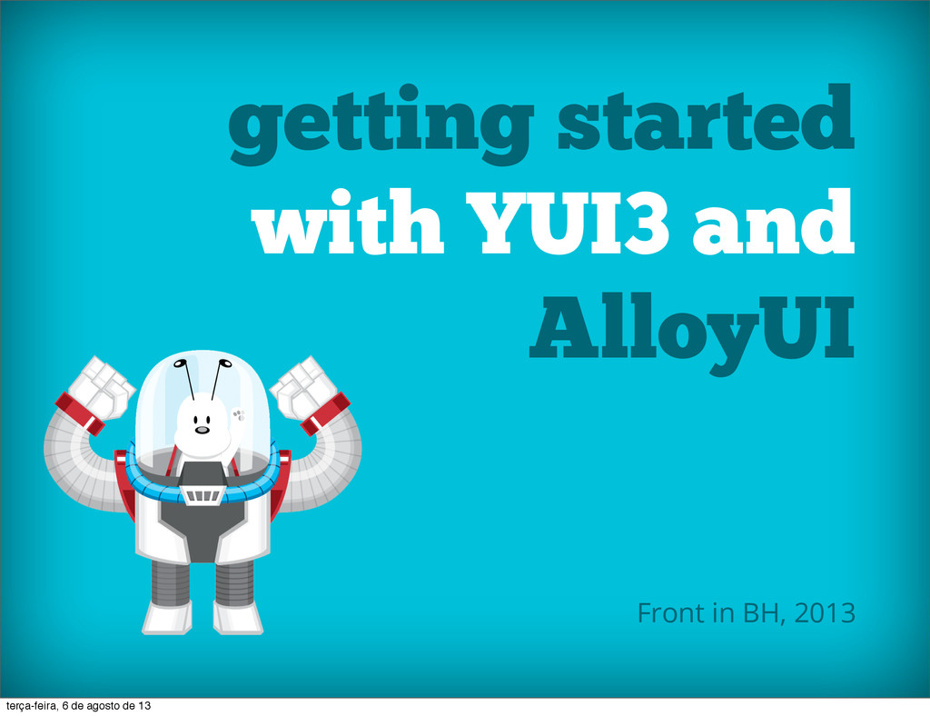 getting started with YUI3 and AlloyUI Front in ...
