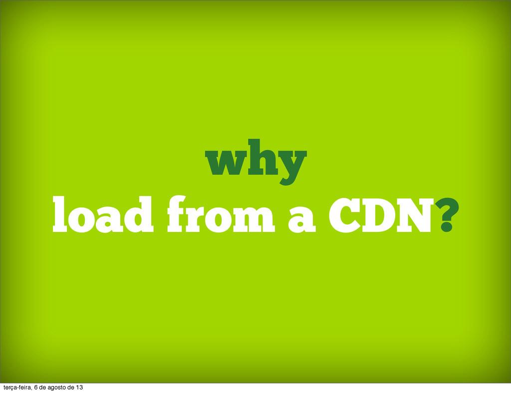why load from a CDN? terça-feira, 6 de agosto d...
