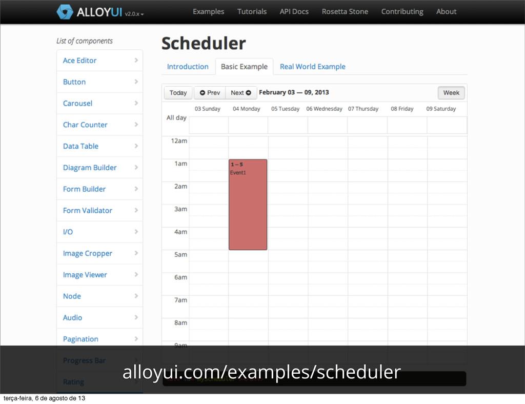 alloyui.com/examples/scheduler terça-feira, 6 d...