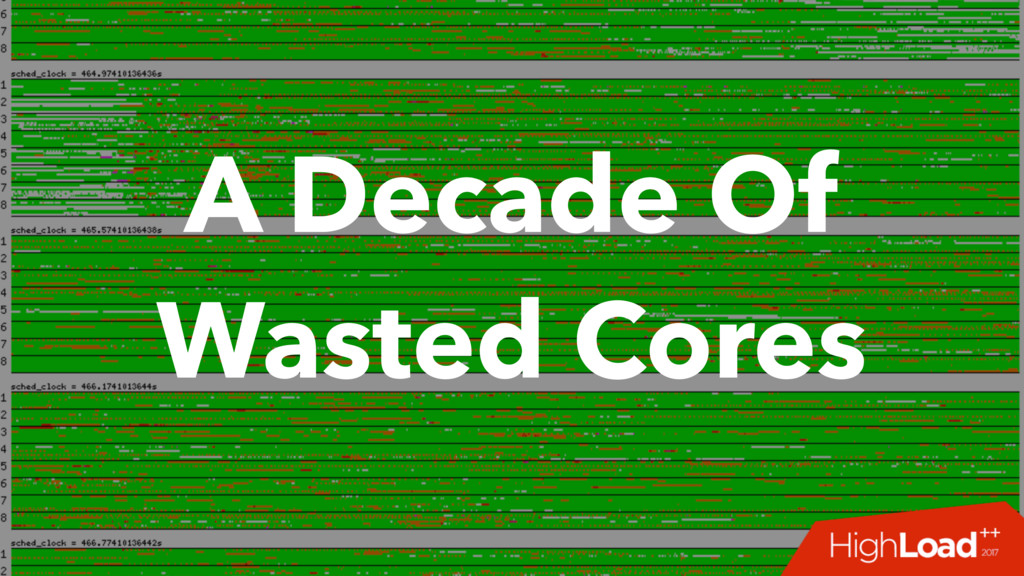 A Decade Of Wasted Cores