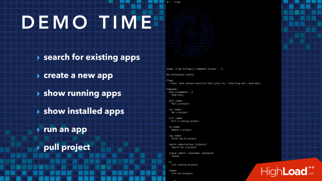 ▸ search for existing apps ▸ create a new app ▸...
