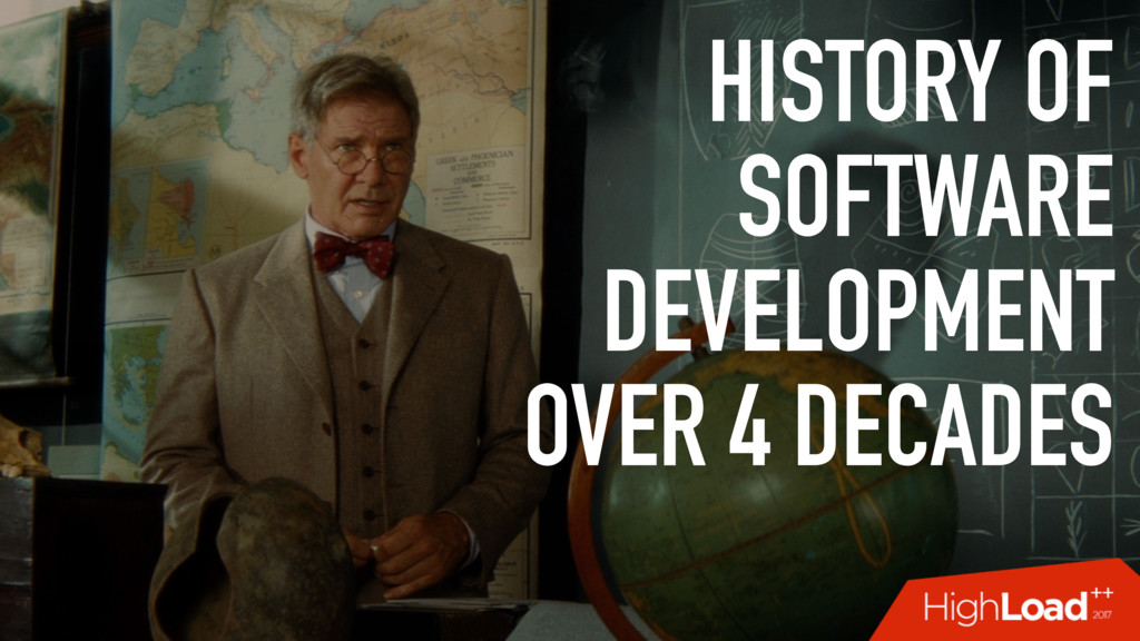 HISTORY OF SOFTWARE DEVELOPMENT OVER 4 DECADES