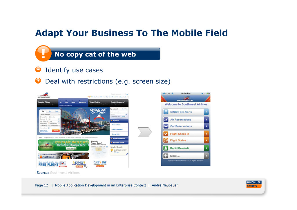 Page 12 | Mobile Application Development in an ...