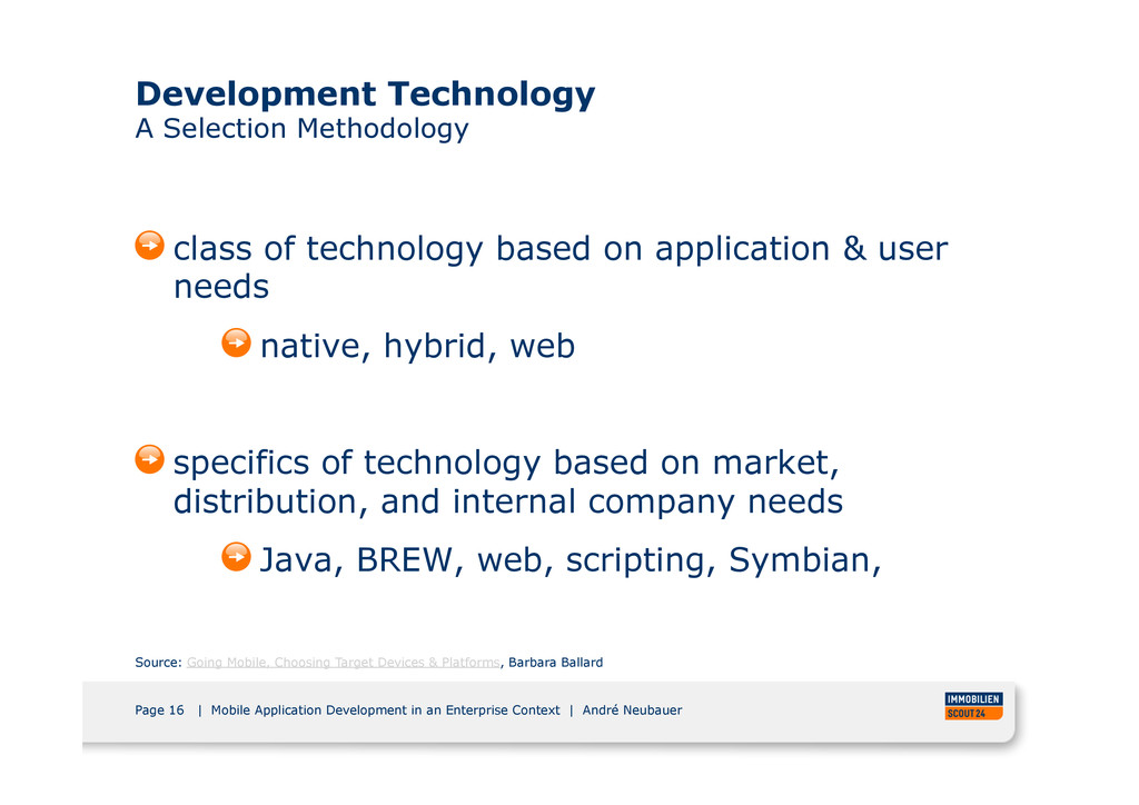 Page 16 | Mobile Application Development in an ...