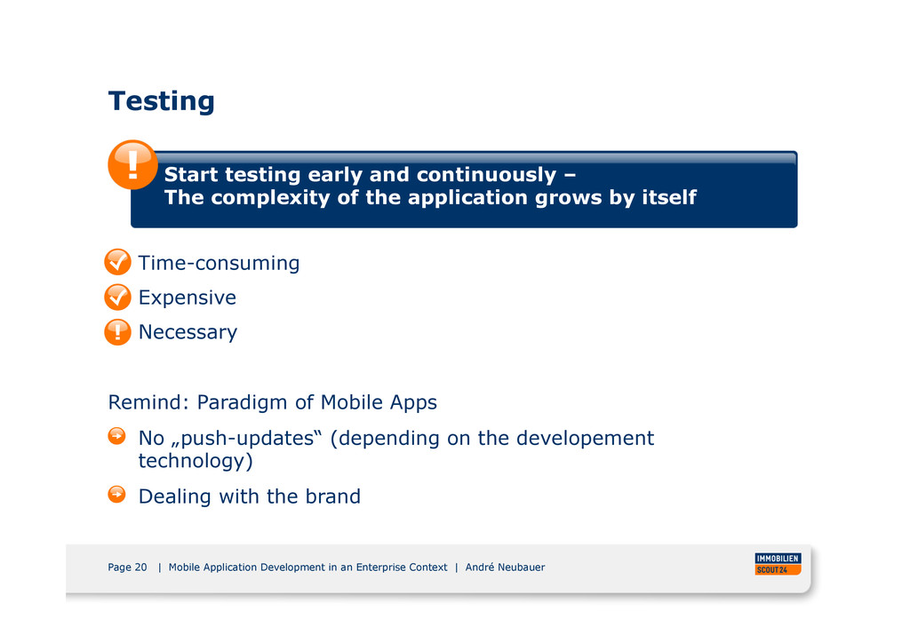 Page 20 | Mobile Application Development in an ...